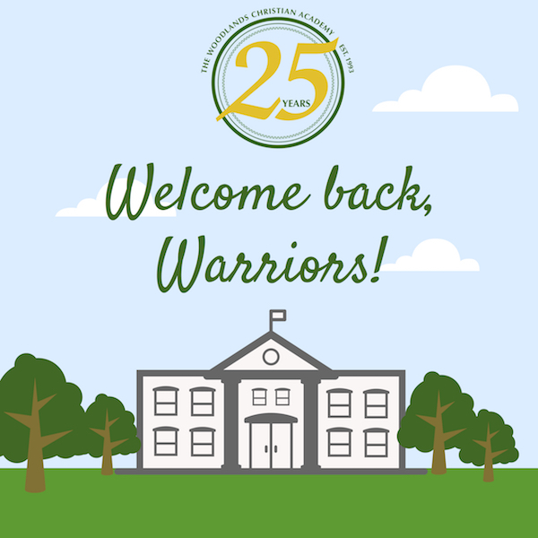 Head of School Welcome Back