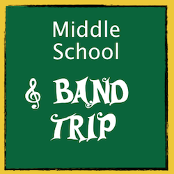 TWCA middle school band trip